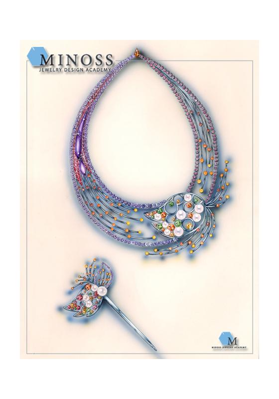 2008 국제 주얼리 디자인 공모전 특 선 미노스 주얼리 아카데미 정규과정 박 혜 림