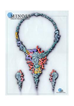 2008 국제 주얼리 디자인 공모전 입 선 미노스 주얼리 아카데미 단과 윈터과정 강 아 연