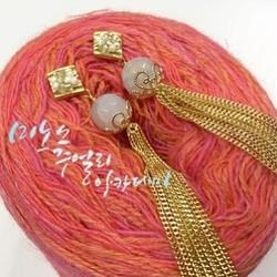 내 손으로 뚝딱만드는 #핸드메이드주얼리 #수공예악세사리 #체인귀걸이 #체인주얼리 #체인이어링 #handcrafted #handcraftedjewelry #earrings #커스텀주