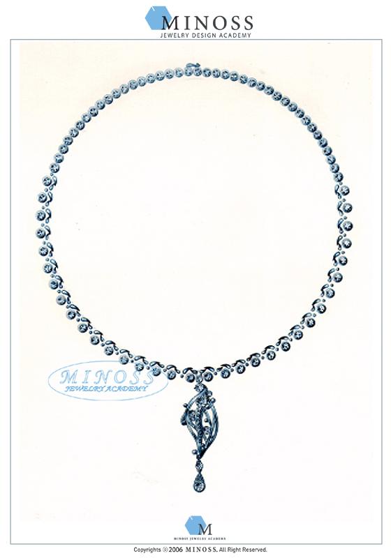 제 2회 GP IDC 다이아몬드 국제 주얼리 디자인 공모전 - 입선 최자형