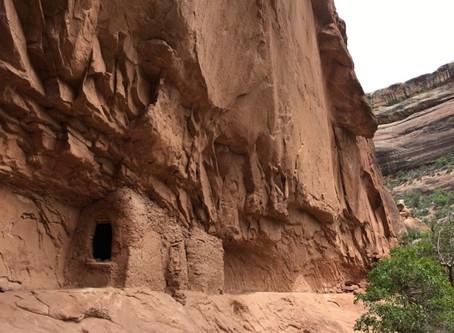 Exploring Canyon Ruins