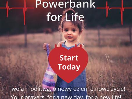 """""""Powerbank for Life"""" - Bateria dla Życia"""