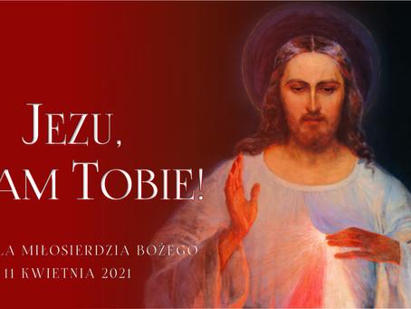 Niedziela Bożego Miłosierdzia - Ogłoszenia Duszpasterskie
