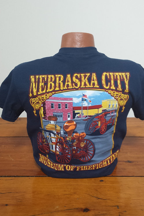 Official Nebraska City Museum Of Firefighting T-Shirt