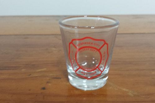 Shot Glass With N.C.V.F.D Logo