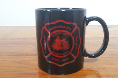 12oz Coffee Cup With N.C.V.F.D Logo