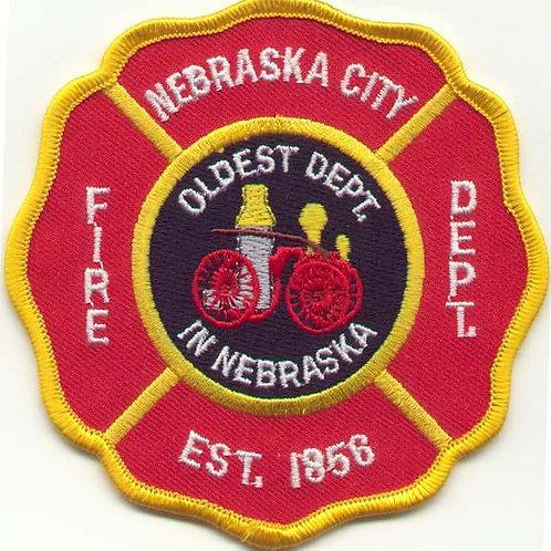 Nebraska City Volunteer Fire Department Patch