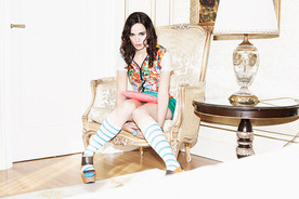 Fashion Editorial Liz Magazine Featuring: Melissa Mars Photography: François Berthier