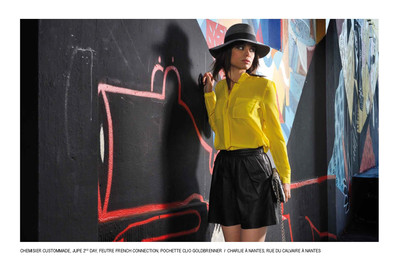Cover & Fashion Editorial Numero Chik Featuring: Melissa Mars Photography: Cyss & Lorca