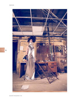 Fashion Editorial Elegant Magazine Featuring: Melissa Mars Photography: Emmanuelle Choussy