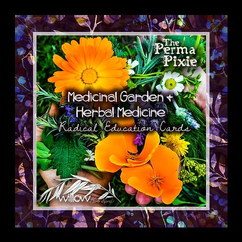 Herbal Medicine and Medicinal Garden Cards