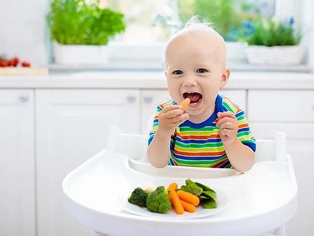 Can sensory play impact a child's relationship with food?