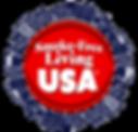 Smoke Free Living USA graphic logo