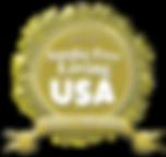 Smoke Free Living USA Gold Certified Logo