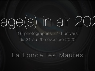 Exposition au festival Images In Air