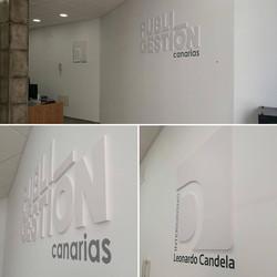 Logo en PVC
