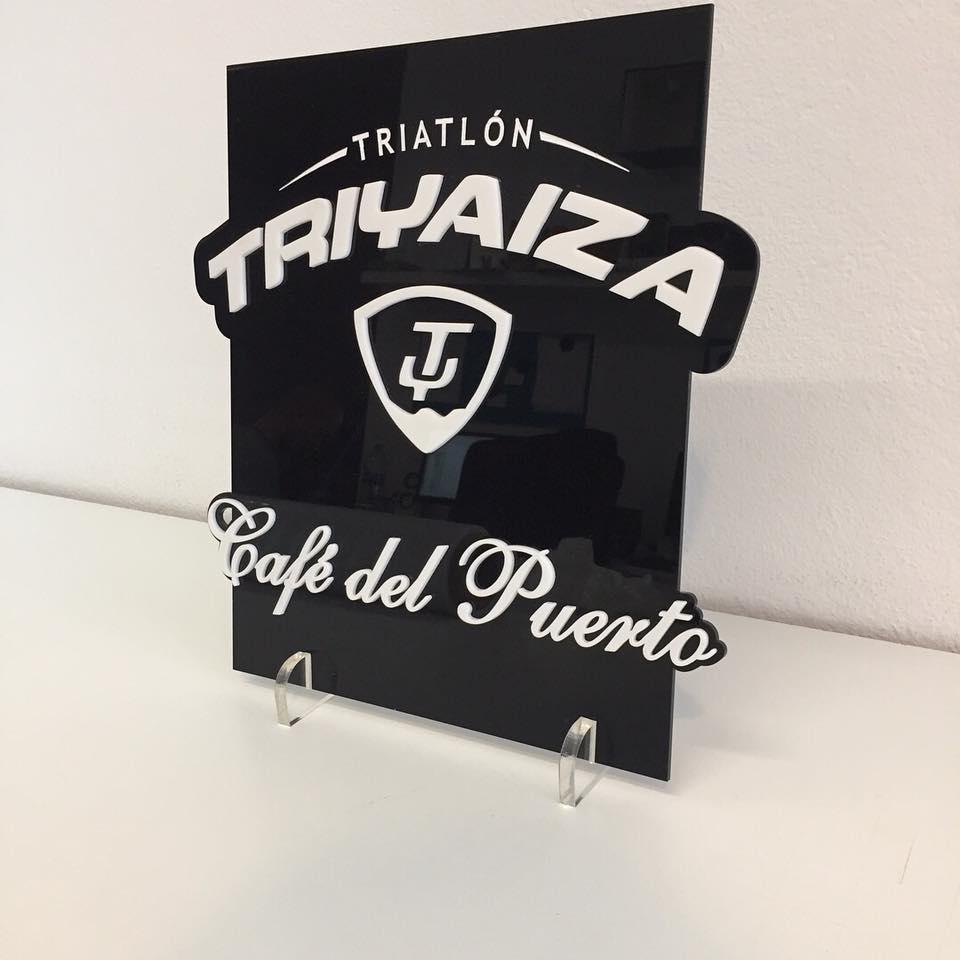 Placa doble metacrilato Triyaiza
