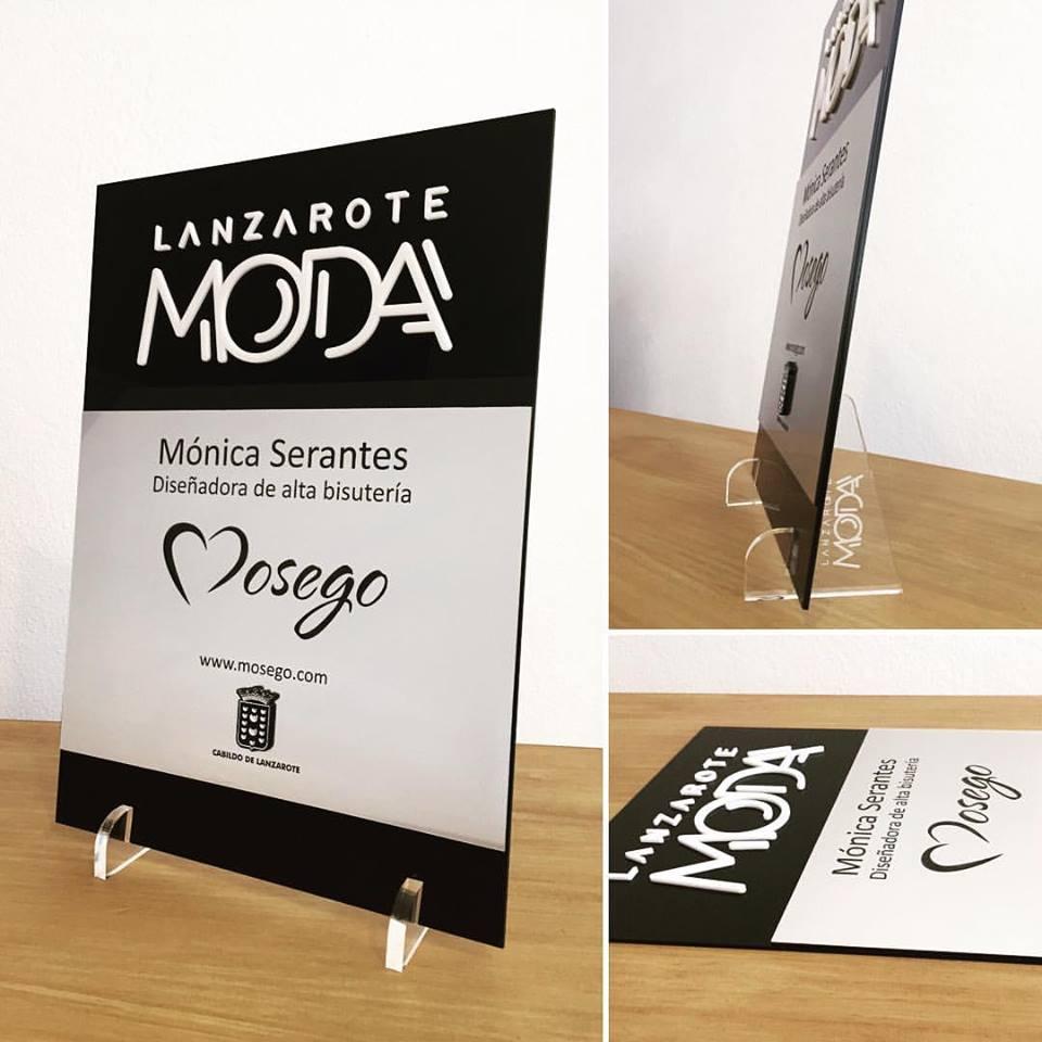 Placas metacrilato Lanzarote Moda