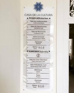 Directorio Casa de la Cultura
