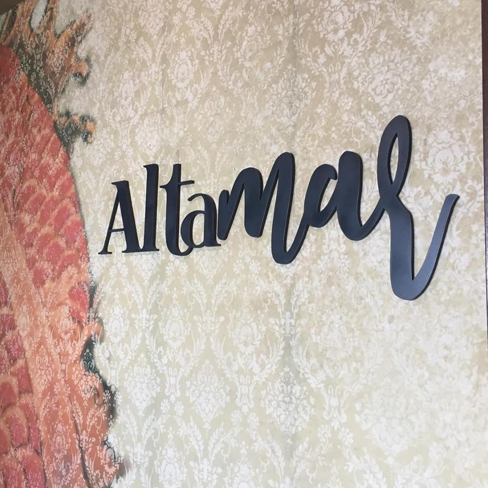 letras corporeas Altamar