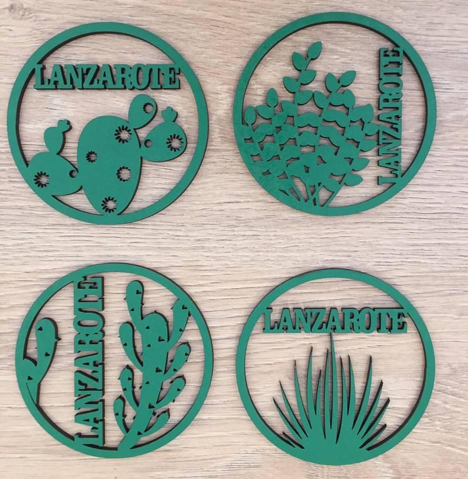Posavasos Lanzarote