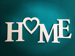 letras PVC home