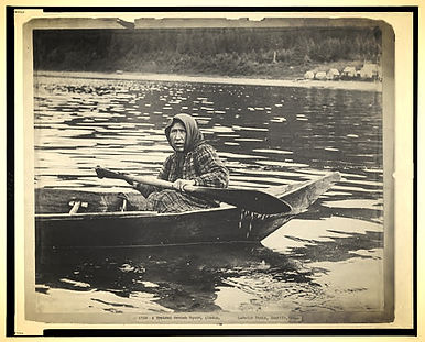LaRoche (c1903) A typical Hoonah squaw, Alaska / LaRoche photo, Seattle, Wash