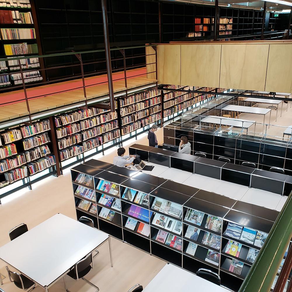 Het Nieuwe Institute reading room