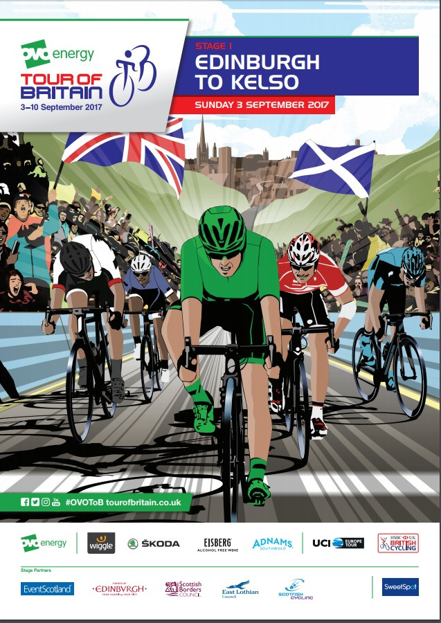 The Tour of Britain is coming to the Scottish Borders