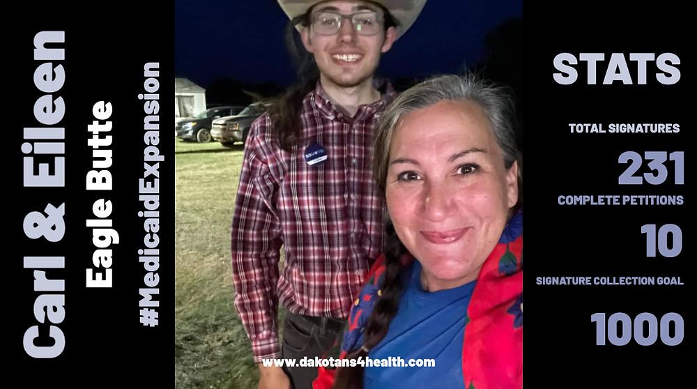 Medicaid expansion petition circulator in Wentworth, South Dakota