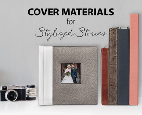 Mix-and-Match Cover Materials for Stylized Stories