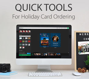 Quick Tools for Holiday Card Ordering