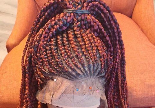Custom braid wig