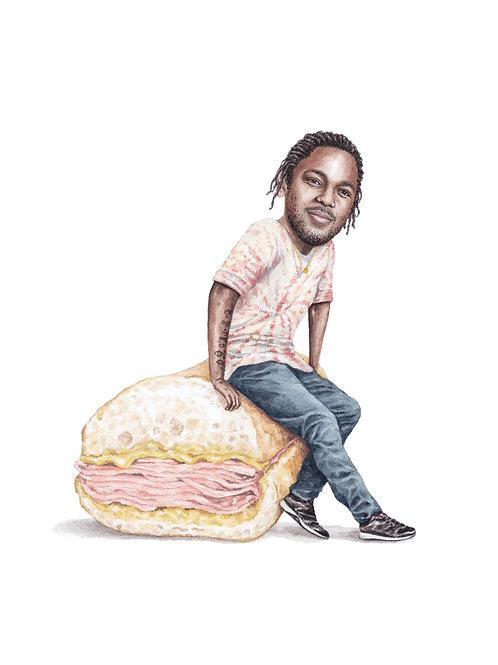 Kendrick Lamar Print
