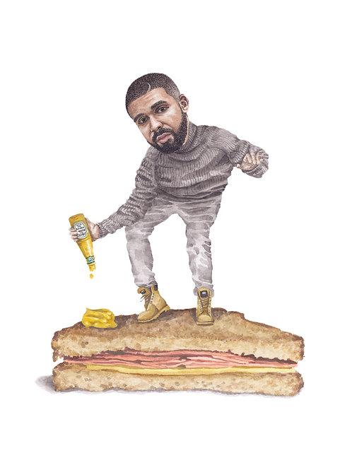 Drake Print