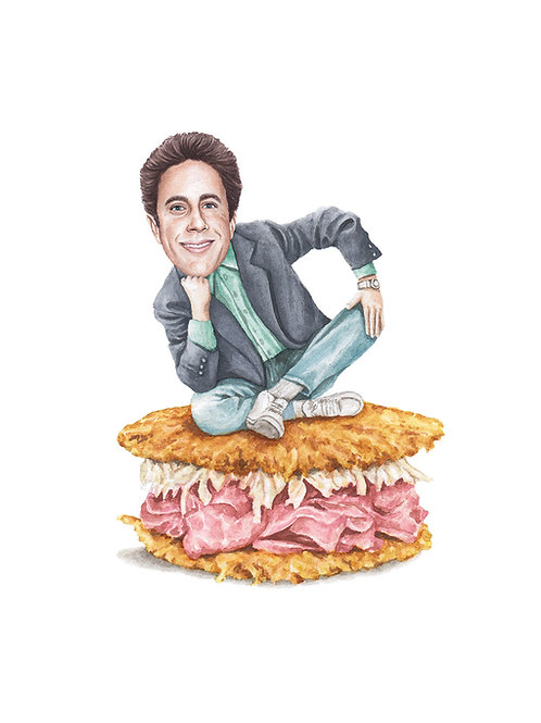 Jerry Seinfeld Print
