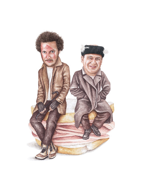 Wet Bandits / Home Alone
