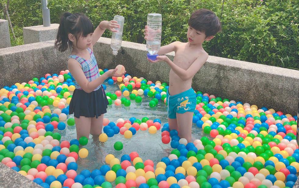 一星伴-兒童戲水池 積木池