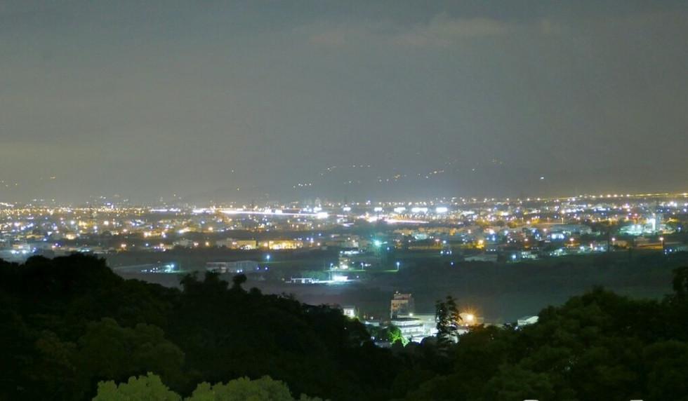 一星伴-台中市百萬夜景