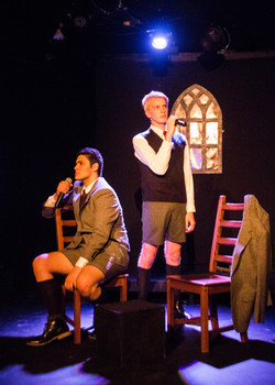 Alex Kerry as Melchior, Justin Vrana as