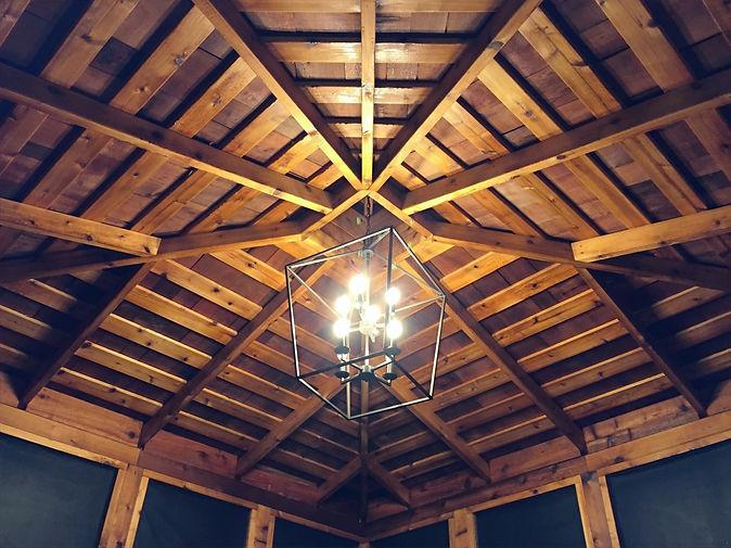 Pergola Roof and Lighting