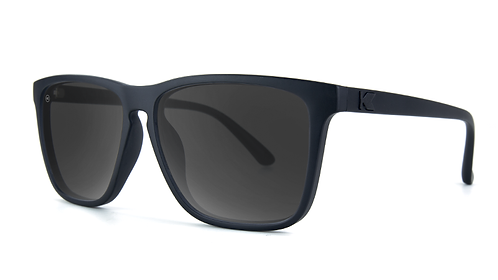 Knockaround Fast Lanes Black on Black / Smoke