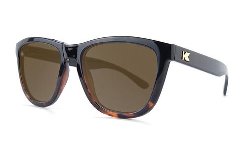 Knockaround Premiums Glossy Black Tortoise shell fade / Amber
