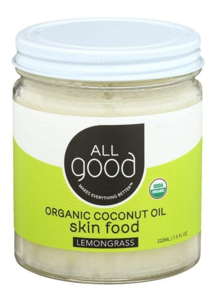 Coconut Oil Skin Food - Lemongrass