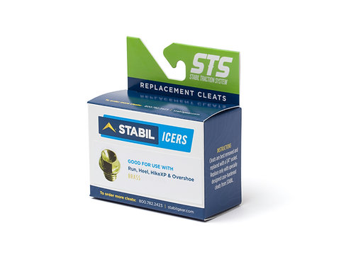 Stabil Replacement Cleats - Brass