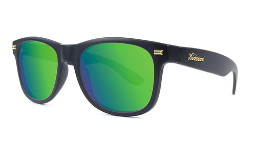 Knockaround Fort Knocks Matte Black / Green Moonshine