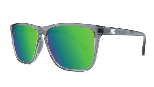 Knockaround Sport Fast Lanes Clear Grey / Green Moonshine