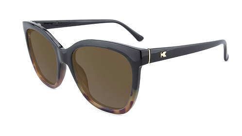 Knockaround Deja Views Glossy Black Tortoise shell fade