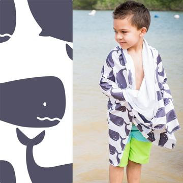 UPF 50+ Sunscreen Towels - Hooded