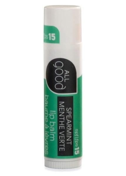 All Good Lip Balm SPF15 Spearmint